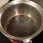 Making the Balsamic Vinegar Reduction