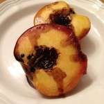 Roasted Peaches with Balsamic Vinegar