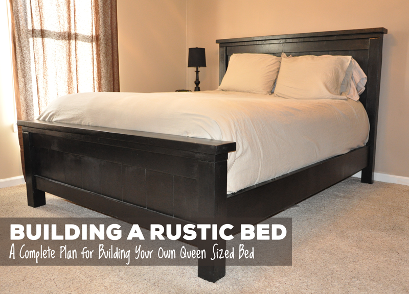 Free Plans For Making A Queen Size Farmhouse Bed A