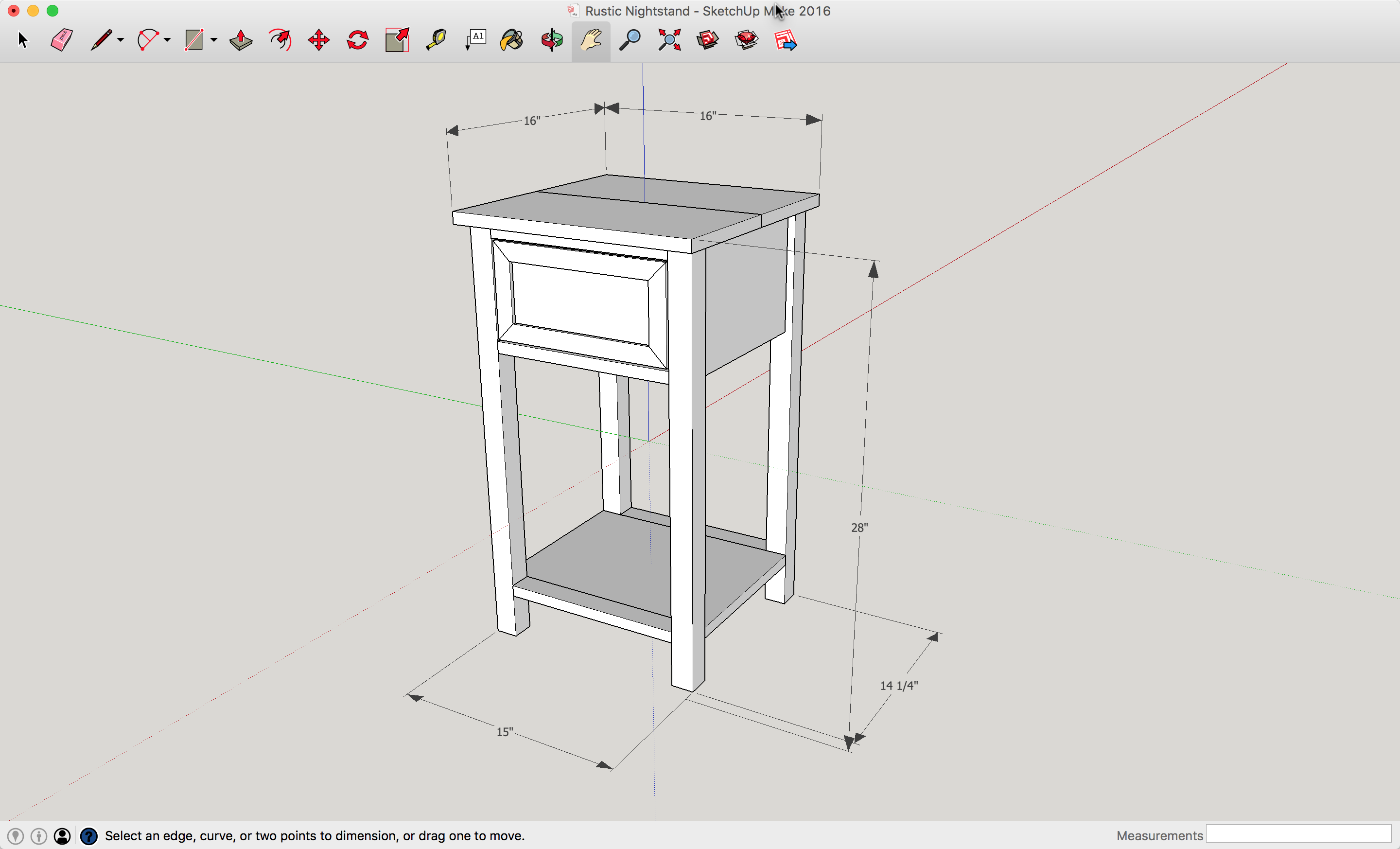 Farmhouse Nightstand Diy Plan A Lesson Learned